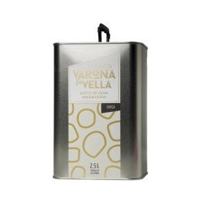 FARGA LATA. Aceite de oliva virgen extra 2,5 litros Varona La Vella