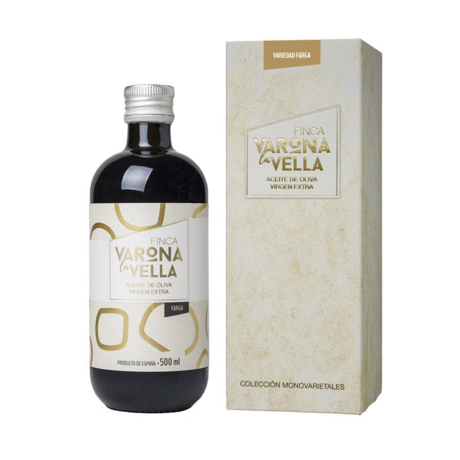FARGA VIDRIO. Aceite de oliva virgen extra Varona La Vella