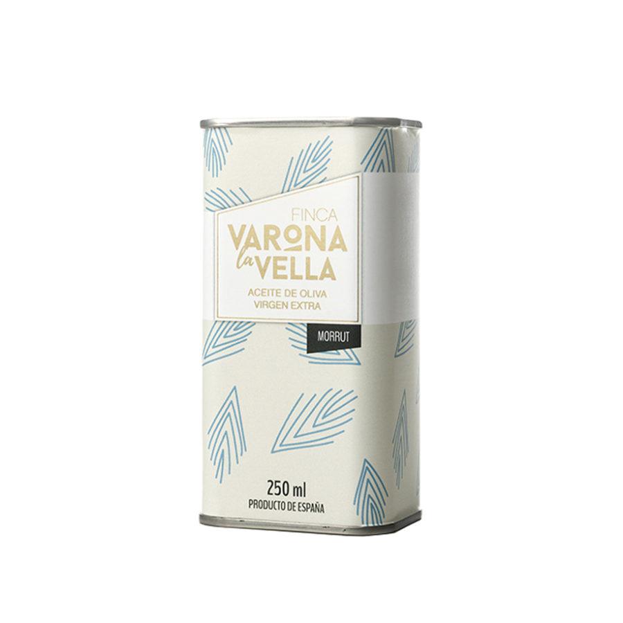 MORRUT LATA. Aceite de oliva virgen extra Varona La Vella