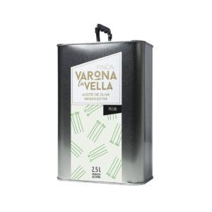 picual 2,5 litros aceite de oliva virgen extra varona la vella
