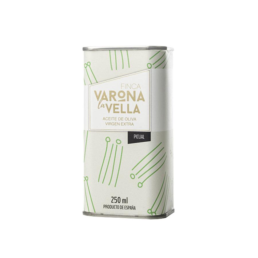 lata picual aceite de oliva virgen extra varona la vella
