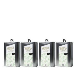 pack 4 aceite de oliva picual varona la vella