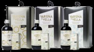 pack de aceite de oliva virgen extra vidrio