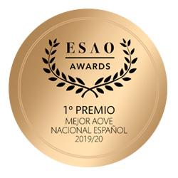 Mejor AOVE de España 2019-2020 por ESAO AWARDS