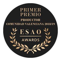 Mejor AOVE de la Comunidad Valenciana 2018-2019 por ESAO AWARDS