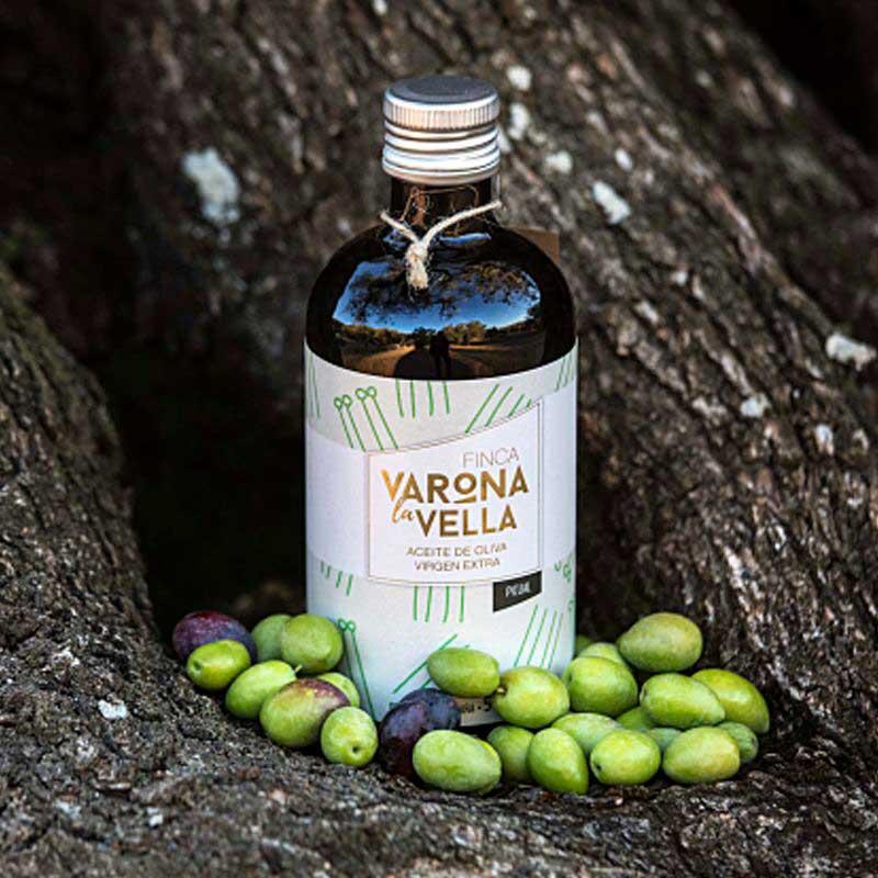 Botella AOVE Finca Varona La Vella